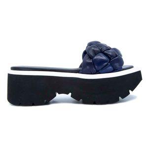 Ciabatta Akemi blu navy