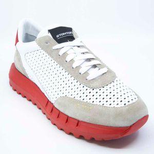 Vintage-U perforated sneakers