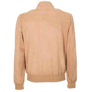 Dafi suede bomber jacket