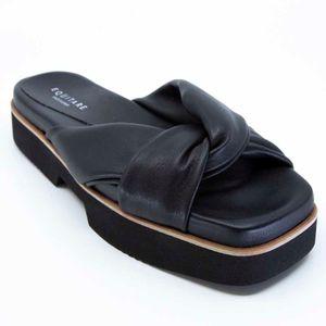 Clara slipper in eco-leather