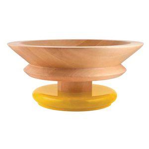 Centerpiece in vat wood