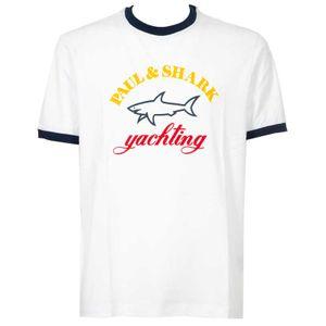 T-Shirt with maxi logo printed