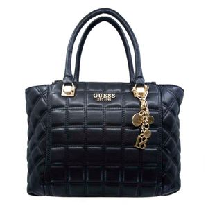 Black quilted Kamina handbag