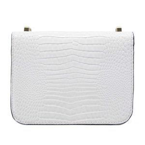 Corily Mini crocodile print shoulder strap