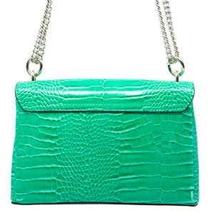 Carabel crocodile print shoulder strap