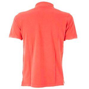 Pico cotton front polo shirt