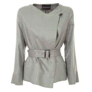 Linen wrap jacket