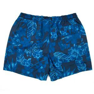 Blue floral swimsuit