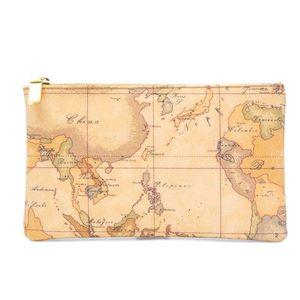 Geo Classic rectangular clutch bag