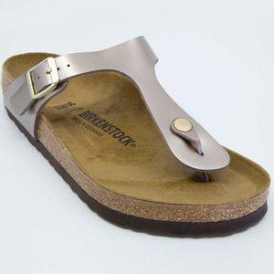 Gizeh Bs gray flip flops