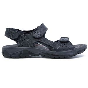 Black sandal with velcro