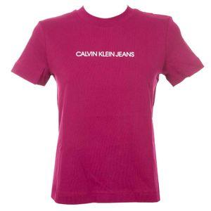 Short-sleeved round-neck cotton T-shirt