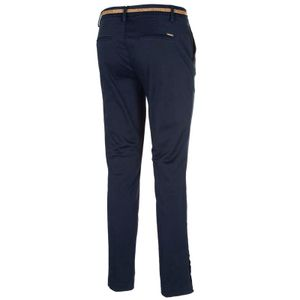 Chino trousers with matching belt