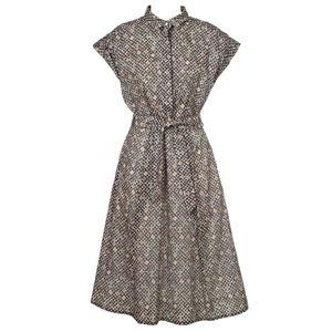 Sosia printed cotton dress