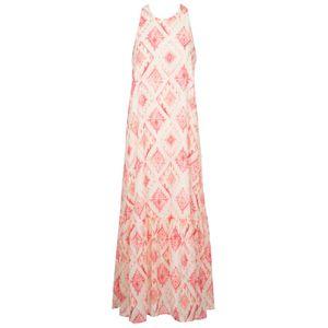 Chimera satin sleeveless dress