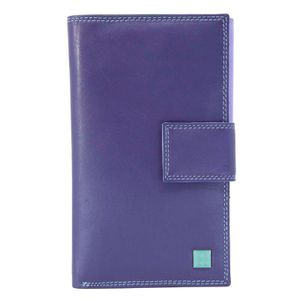 Multi-pocket notebook in leather