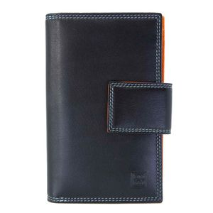 Notebook in genuine black leather