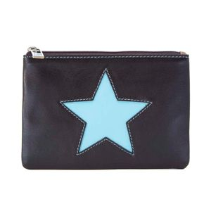 Brown coin purse with star