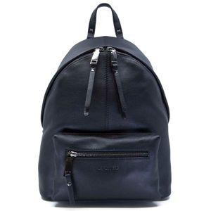 Brave backpack in black leather