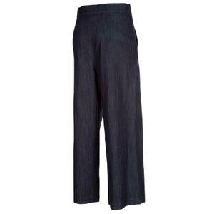 Wide trousers with Denim rhinestones