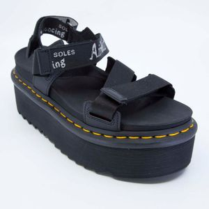 Kimber black sandal