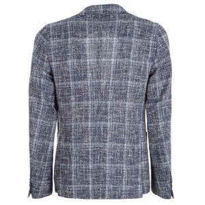 Cotton blend tweed jacket