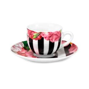 Rose Wood cup and saucer set