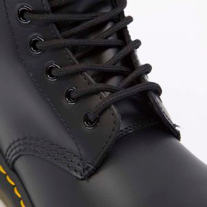 1460 amphibian in black leather