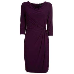 Short stretch raisin dress