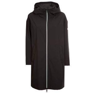 Long jacket in Buono technical fabric