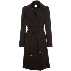 Deadool black coat with belt