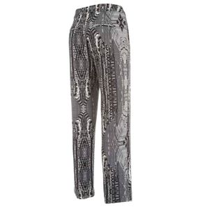Becket printed trousers