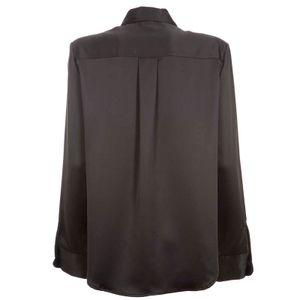 Black satin Begginners shirt