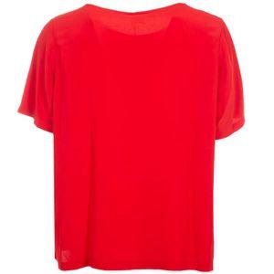 Barbados silk satin blouse
