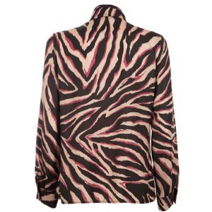 Belize animalier shirt with rouches