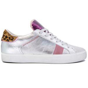 Sneakers Low Top Distressed laminata