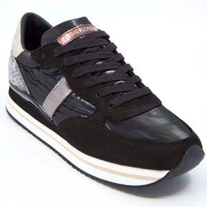 Sneakers Stripe Runner nera