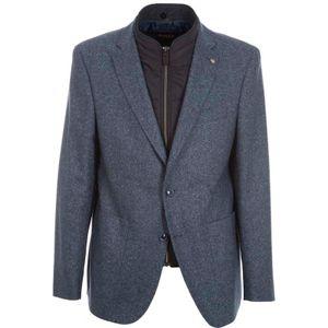 Modern fit jacket with bib