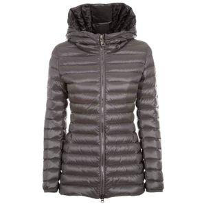 Glossy down jacket 2252 gray