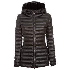 Glossy down jacket 2252 black