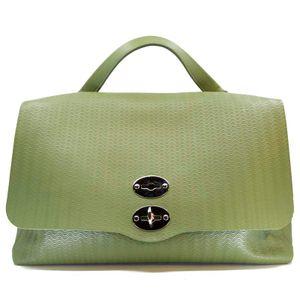 Postina L Bag Cashmere Blande Military Green Line