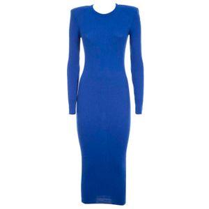 Electric blue Jade wool suit