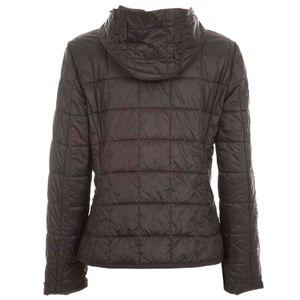 Painter black lightweight down jacket