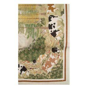 Walser linen tablecloth 45x170