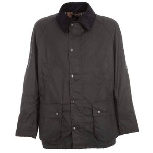 Ashby jacket in blue waxed cotton