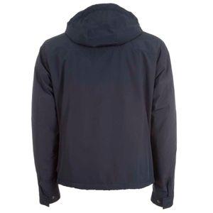 Typhoon blue jacket with hood