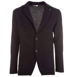 Black virgin wool blend jacket