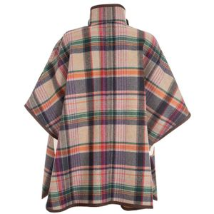 Reversible cape in Remo virgin wool