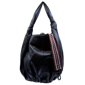 Shoulder bag in Dazzy faux leather