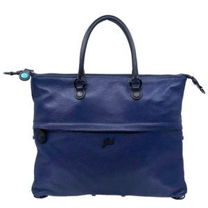 Borsa G3 Plus Tg M Tasca Zip Blu